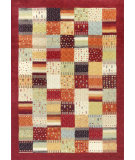 RugStudio presents Kas Reflections 7419 Red Machine Woven, Good Quality Area Rug