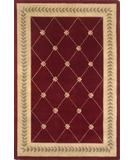 RugStudio presents Kas Ruby Trellis Ruby-Gold 8914 Hand-Tufted, Good Quality Area Rug