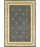 RugStudio presents Kas Ruby Trellis Wedgewood-Ivory 8929 Hand-Tufted, Good Quality Area Rug