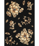 RugStudio presents Kas Ruby 8880 Black Hand-Tufted, Good Quality Area Rug