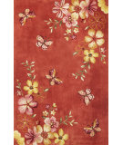 RugStudio presents Kas Ruby 8882 Coral Hand-Tufted, Good Quality Area Rug