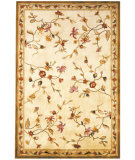RugStudio presents Kas Ruby Floral Delight Ivory 8920 Hand-Tufted, Good Quality Area Rug
