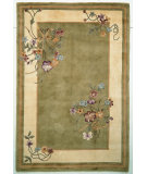 RugStudio presents Kas Ruby Bouquet Sage 8937 Hand-Tufted, Good Quality Area Rug