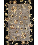 RugStudio presents Kas Ruby 8957 Silver Hand-Tufted, Good Quality Area Rug