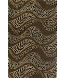 RugStudio presents KAS Sahara Exotics Mocha 4413 Hand-Tufted, Good Quality Area Rug