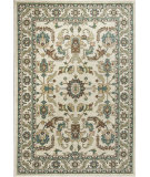 RugStudio presents KAS Shiraz 5009 Ivory Serapi Machine Woven, Good Quality Area Rug