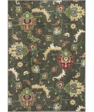 RugStudio presents KAS Shiraz 5011 Olive Green Oushak Machine Woven, Good Quality Area Rug