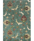 RugStudio presents KAS Shiraz 5014 Blue Oushak Machine Woven, Good Quality Area Rug