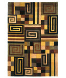 RugStudio presents Kas Signature Maze Earthtone 9083 Hand-Tufted, Best Quality Area Rug