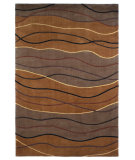 RugStudio presents Kas Signature Waves Earthtone 9095 Hand-Tufted, Best Quality Area Rug