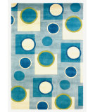 RugStudio presents Kas Signature Fizz Sky Blue 9100 Hand-Tufted, Best Quality Area Rug