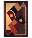 RugStudio presents Kas Signature Dimensions Multicolor 9103 Hand-Tufted, Best Quality Area Rug