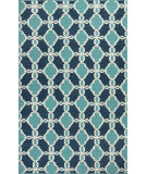 RugStudio presents Kas Solstice 4005 Turquoise Woven Area Rug