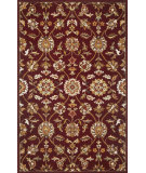 RugStudio presents Kas Sonal 3819 Burgundy Hand-Tufted, Good Quality Area Rug
