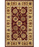 RugStudio presents Kas Sonal 3822 Burgundy Hand-Tufted, Good Quality Area Rug