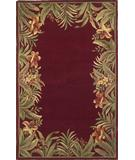 RugStudio presents Kas Sparta Rainforest Red 3150 Hand-Tufted, Better Quality Area Rug