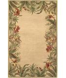 RugStudio presents Kas Sparta Rainforest Ivory 3151 Hand-Tufted, Better Quality Area Rug