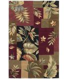 RugStudio presents Kas Sparta Foliage Views Jeweltone 3163 Hand-Tufted, Better Quality Area Rug