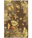 RugStudio presents Kas Sparta Foliage Views Mocha 3173 Hand-Tufted, Better Quality Area Rug