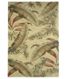 RugStudio presents Kas Sparta Ferns Ivory 3124 Hand-Tufted, Better Quality Area Rug