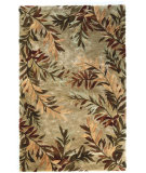 RugStudio presents Kas Sparta Tropical Branches Sage 3144 Hand-Tufted, Better Quality Area Rug