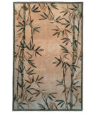 RugStudio presents Kas Sparta Bamboo Border Ivory 3146 Hand-Tufted, Better Quality Area Rug