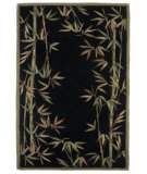 RugStudio presents Kas Sparta Bamboo Border Black 3147 Hand-Tufted, Better Quality Area Rug