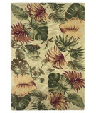 RugStudio presents Kas Sparta Palm Leaves Beige 3148 Hand-Tufted, Better Quality Area Rug