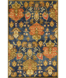 RugStudio presents Kas Syriana 6020 Navy Hand-Tufted, Good Quality Area Rug