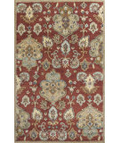 RugStudio presents KAS Syriana 6025 Cinnamon Tapestry Hand-Tufted, Good Quality Area Rug