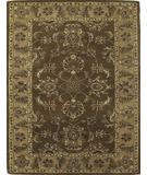 RugStudio presents KAS Taj Palace Agra Mocha-Sand 8743 Hand-Tufted, Better Quality Area Rug