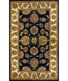 RugStudio presents Kas Taj Palace 8748 Navy/Ivory Hand-Tufted, Better Quality Area Rug