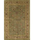 RugStudio presents KAS Taj Palace Kashan Sage-Beige 8725 Hand-Tufted, Better Quality Area Rug