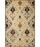 RugStudio presents Kas Tapestry 6804 Ivory Hand-Tufted, Good Quality Area Rug