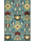 RugStudio presents Kas Tapestry 6811 Blue Hand-Tufted, Good Quality Area Rug