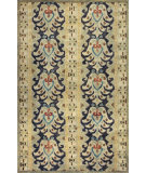 RugStudio presents Kas Tapestry 6814 Multi Hand-Tufted, Good Quality Area Rug