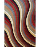 RugStudio presents KAS Tate Waves 8502 Multi Machine Woven, Good Quality Area Rug