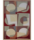 RugStudio presents KAS Tate Elements 8514 Gold Machine Woven, Good Quality Area Rug