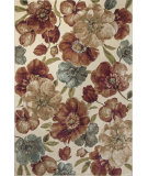 RugStudio presents KAS Versailles 8577 Ivory Gardenia Machine Woven, Good Quality Area Rug