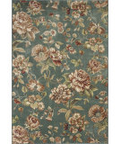 RugStudio presents KAS Versailles 8587 Aqua Springtime Machine Woven, Good Quality Area Rug