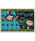 RugStudio presents Fun Rugs Bobby Jack Going Dotty BJ-22 Multi Machine Woven, Good Quality Area Rug