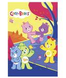 RugStudio presents Fun Rugs Care Bears Playground CB-62 Multi Machine Woven, Good Quality Area Rug