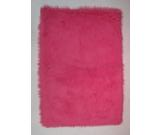 RugStudio presents Fun Rugs Flokati Hot Pink FLK-003 Hot Pink Area Rug