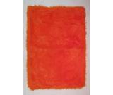 RugStudio presents Fun Rugs Flokati ORANGE FLK-006 Orange Area Rug