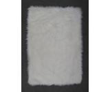 RugStudio presents Fun Rugs Flokati WHITE FLK-008 White Area Rug