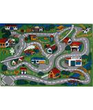 RugStudio presents Fun Rugs Fun Time Country Fun FT-003 Multi Machine Woven, Good Quality Area Rug