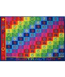 RugStudio presents Fun Rugs Fun Time Addition FT-142 Multi Machine Woven, Good Quality Area Rug