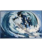 RugStudio presents Fun Rugs Fun Time Surfin' FT-194 Multi Machine Woven, Good Quality Area Rug
