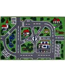 RugStudio presents Fun Rugs Fun Time Streets FT-5019/96 Multi Machine Woven, Good Quality Area Rug
