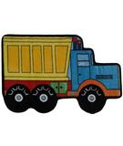 RugStudio presents Fun Rugs Fun Time Shape Dump Truck FTS-132 Multi Machine Woven, Good Quality Area Rug